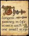 """Metallschild """"Journey"""""""