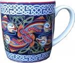 Keramiktasse Celtic Fish