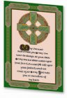Geschirrtuch: Celtic Saying