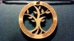 Holz-Schmuck-Anhänger Tree Of Life