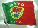 Autofahne Mayo