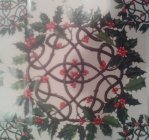 Geschenkpapier Holly Wreath