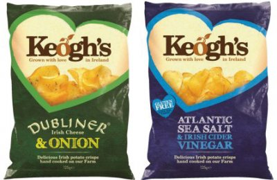 Keogh´s Mix Crisps Cheese/Onion und Seasalt/Vinegar