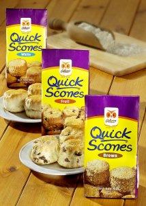 2 Packungen Odlums Brown Scones - zum Preis von einer: weil abgelaufen