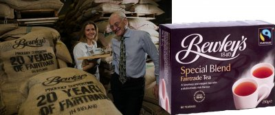 Bewleys Fairtrade - 80 Teebeutel -  reduziert (auch wegen MDH)