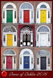 Doors of Dublin Calendar - achtung alt: für 2016