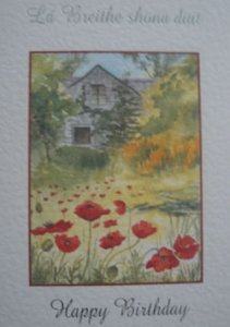 Geburtstagskarte ´Lá Breithe shona duit`
