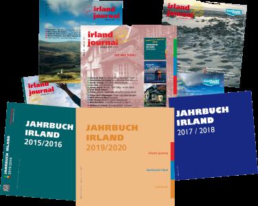 irland journal Test Abo 2020 mit zweimal Jahrbuch-Bonus und mehr aus 2017 + 2018 gratis dazu.
