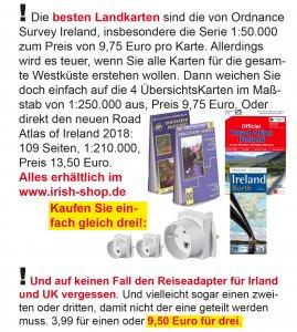 Sie brauchen Kartenmaterial für Irland?