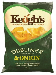 Keogh´s  Crips Cheese and Onion - reduziert