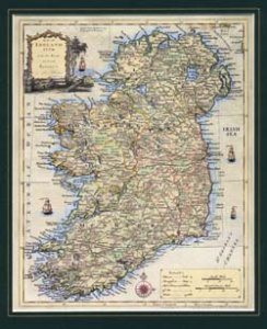 Historische Landkarte