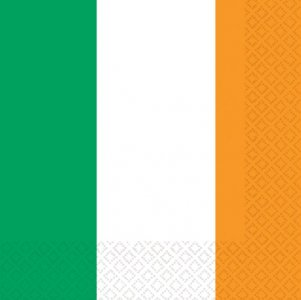 Servietten 'IRISH FLAG'