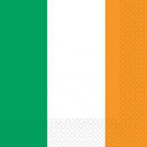 Servietten 'IRISH FLAG'