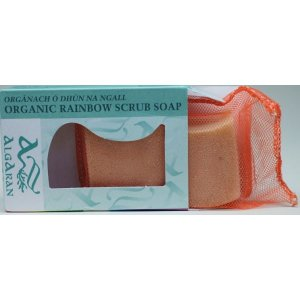 Regenbogenseife -orange- bio ylang ylang