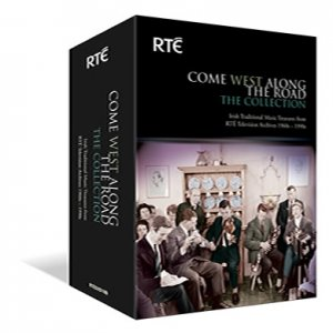 RTÉ - Come West Along The Road  - alle vier zum Schnäppchenpreis. Komplett 1-4