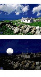Irland Bildschirmschoner, animiert