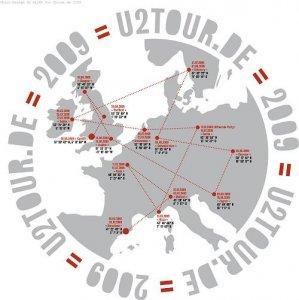 U2 Tour-T-Shirt Girlies