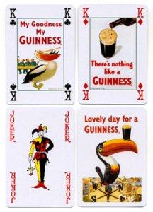 Spielkarten Guinness