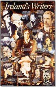 POSTER - Ireland's Writers