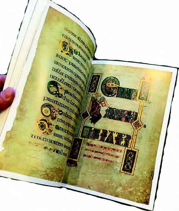 1257 Lesezeichen & Book of Kells - aus ij 4.17