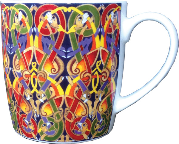 Keramiktasse Celtic Pattern