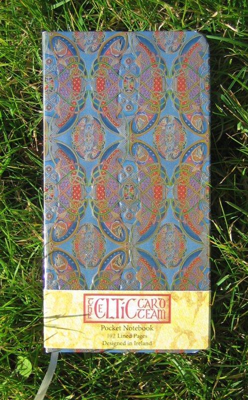 Notizbuch - Celtic Fish