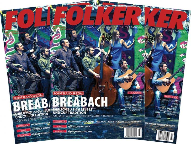 Folker: für 1 Euro: 3 Stück von der Ausgabe 3.17 : das eigentliche Rudolstadt – Heft. Und Ihr macht Reklame damit....