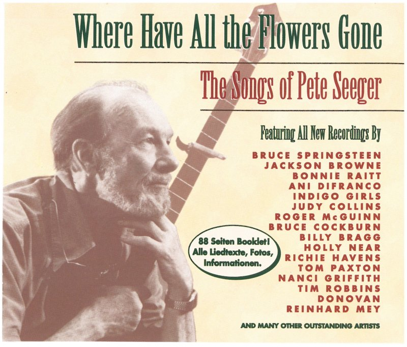 "Peter Seeger Tribute "" Where have all the Flowers gone"""
