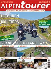 Alpentourer - Motorrad - Tourenmagazin Irland - Schottland - Wales