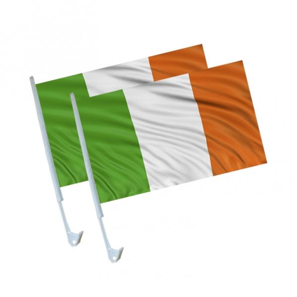 Irische Auto Fahnen