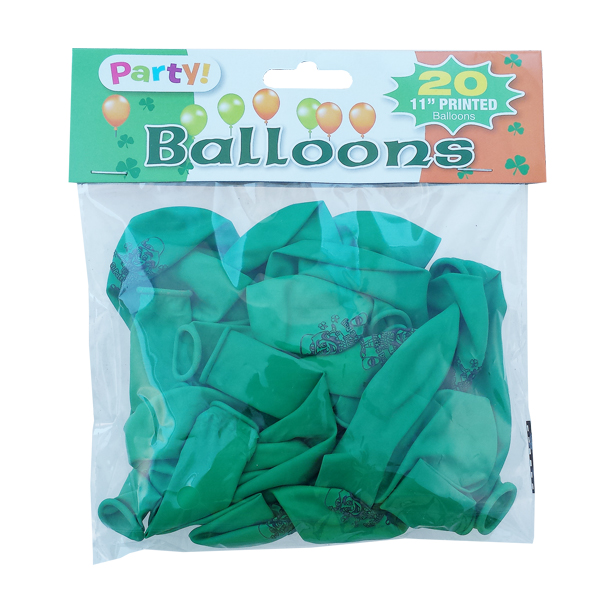Irische Party Ballons