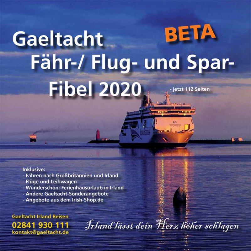 1201 Gaeltacht Fähr-, Flug- und Sparfibel für Irland - Betaversion 2020
