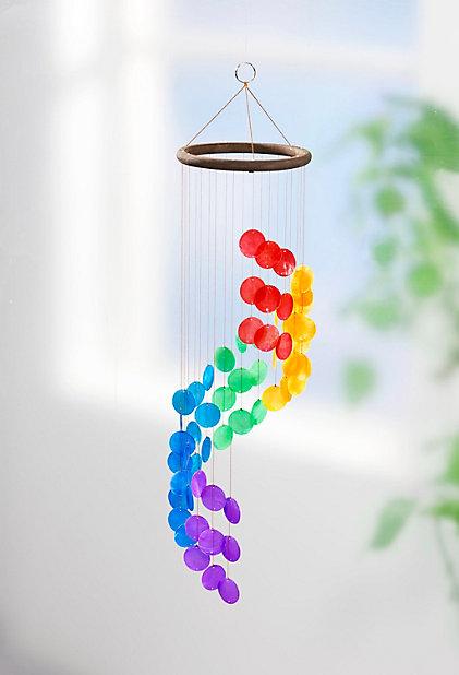 Regenbogen Windspiel