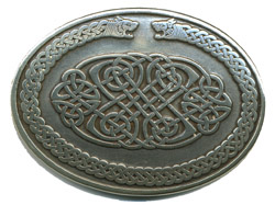 Celtic Buckle oval