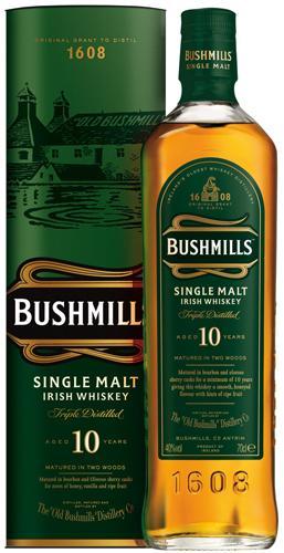 Bushmills Malt 10 Years, Irish Single Malt Whiskey