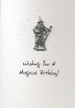 Geburtstagskarte ´Wizard`
