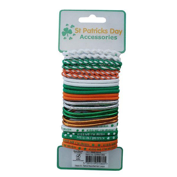 Haargummis - St. Patrick's Day Hair Loops