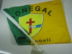 Autofahne Donegal