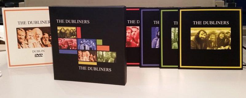 The Dubliners in der Geschenkbox - 4 CDs und 1 DVD