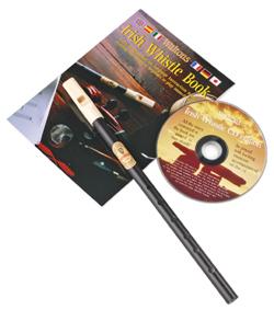 Irish Black Whistle mit Songbook und CD
