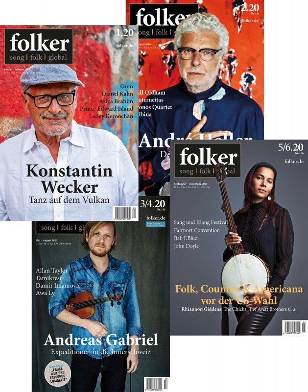 Folker Corona Spezial, alle 4 Hefte aus 2020
