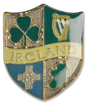 Anstecker 4 Symbole von Irland