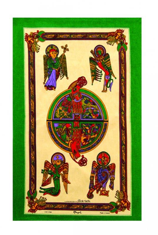 Geschirrtuch Book of Kells 1