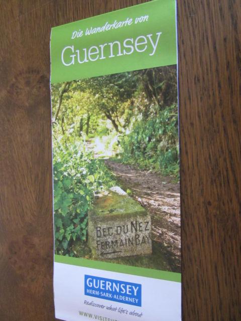 GUERNSEY: Die Wanderkarte