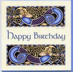 Grußkarte Happy Birthday ´Bogenschütze`