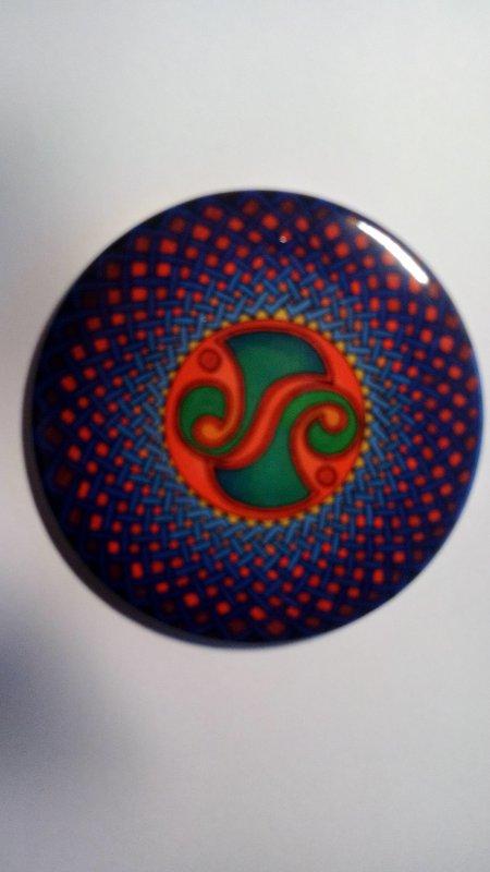 Taschenspiegel Irish Bronze Mount
