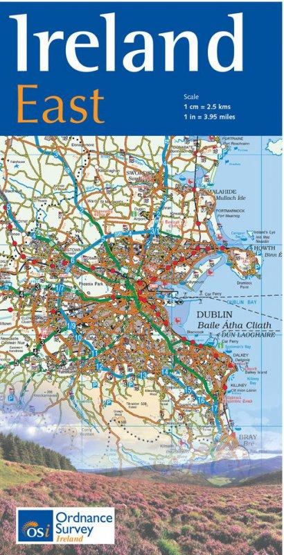 Karte: Ireland East - wieder lieferbar! Alle anderen auch.