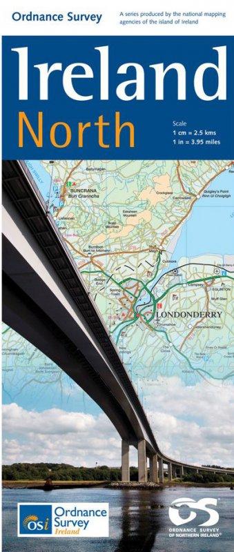 Karte: Ireland North - wieder lieferbar. Alle anderen auch.