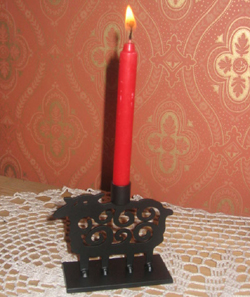 Kerzenleuchter  Schaf