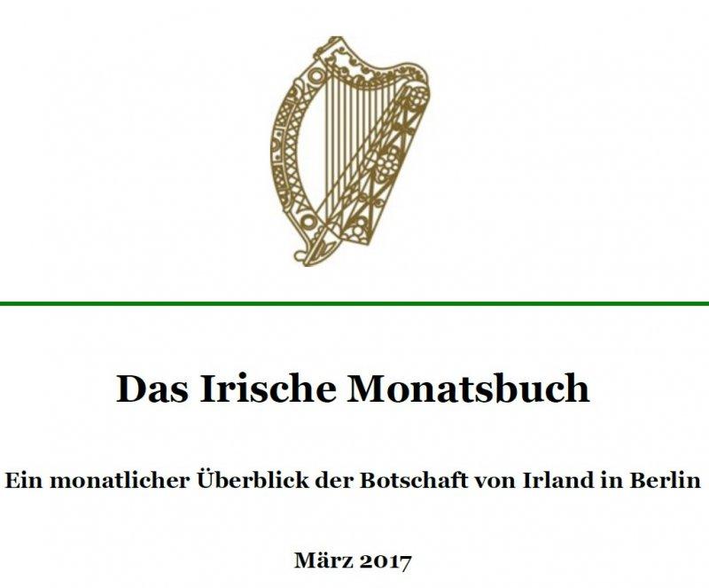 1182 Monatsbuch März 2017 der irischen Botschaft in Berlin